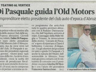 Di Pasquale guida l'Old Motors